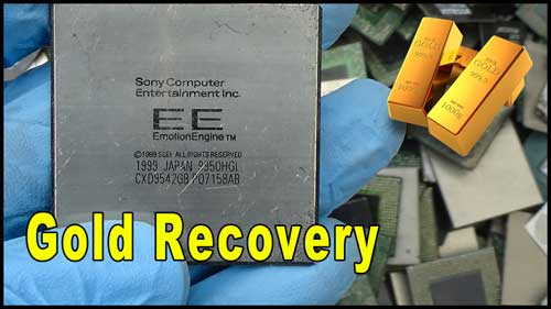sony ic chips recycling