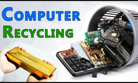 E waste Recycling-Gold Recovery from computer parts and e waste
