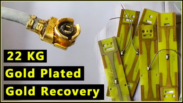 Photo of Gold Plated Boards Recycling For Gold Recovery